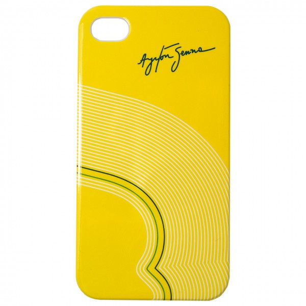 Ayrton Senna Smartphone Cover 4 4s Track Lines