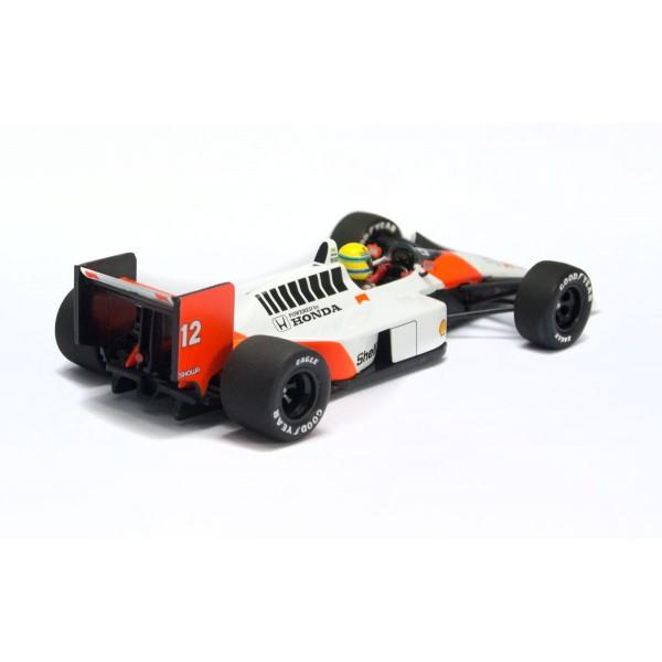 McLaren Honda MP4/4 Ayrton Senna Japan GP 1988 back