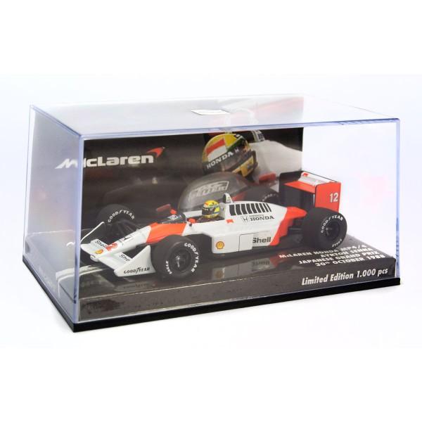 McLaren Honda MP4/4 Ayrton Senna Japan GP 1988 box 2