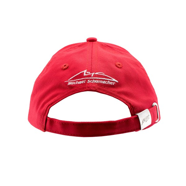 Michael Schumacher Casquette Enfant Champion du Monde rouge