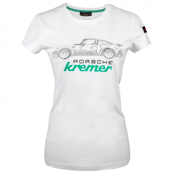 Damen T-Shirt Kremer Racing Porsche 911 Carrrera No. 9