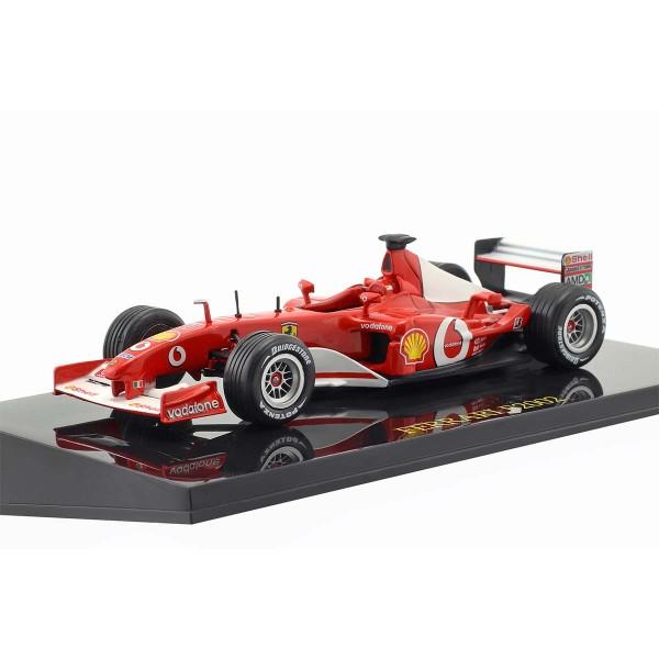 Michael Schumacher Ferrari F2002 #1 campeón del mundo de Fórmula 1 2002 1/43