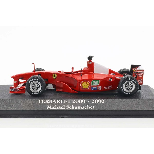 Michael Schumacher Ferrari F1-2000 #3 World Champion Formula 1 2000 1:43