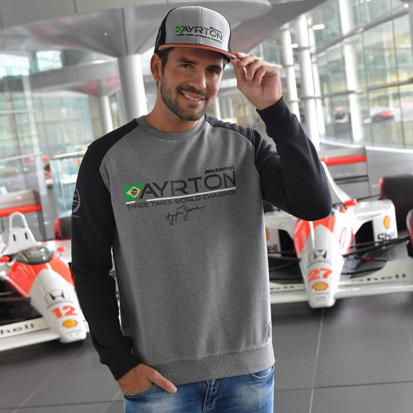 Sweatshirt Senna World Champion 1988 McLaren model