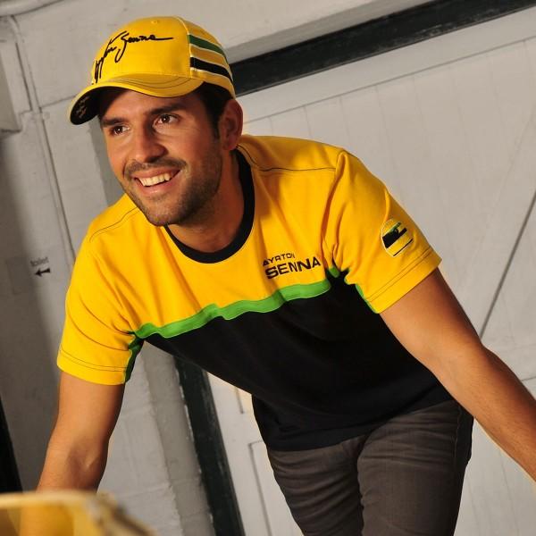 Ayrton Senna T-Shirt Racing model