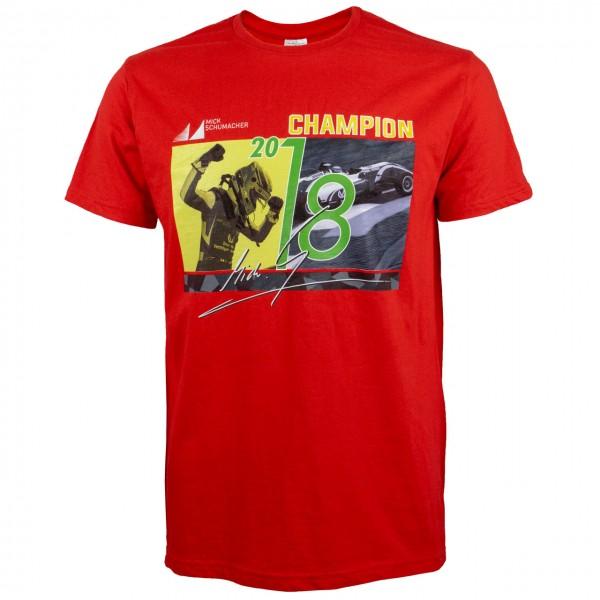 T-Shirt Mick Schumacher Chamnpion 2018