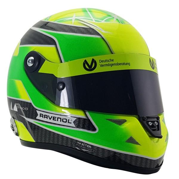 Mini Helm Mick Schumacher 2018 rechts