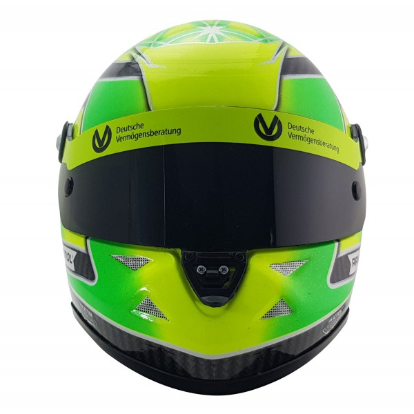 Mini Helm Mick Schumacher 2018 frontal