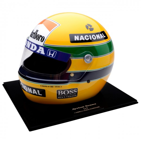 ayrton senna helm 1988 nr 269 500 ma stab 1 1. Black Bedroom Furniture Sets. Home Design Ideas