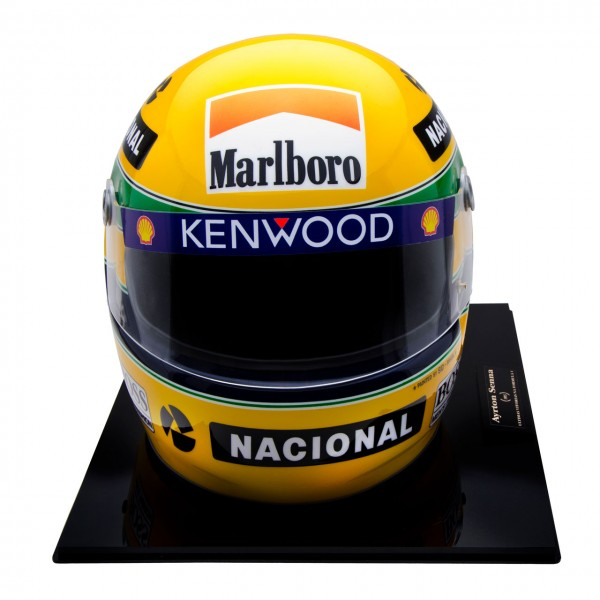 ayrton senna helmet 1993 no 556 1000 scale1 1. Black Bedroom Furniture Sets. Home Design Ideas