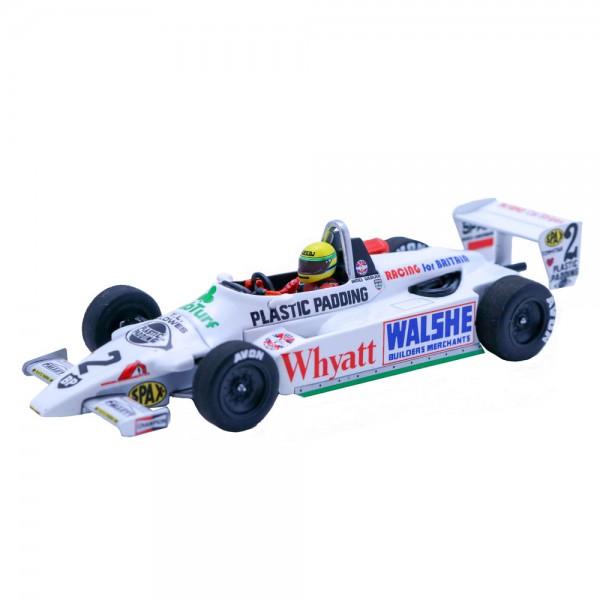 Ayrton Senna Ralt Toyota RT3 1st F3 Test Silverstone 1982 1/43
