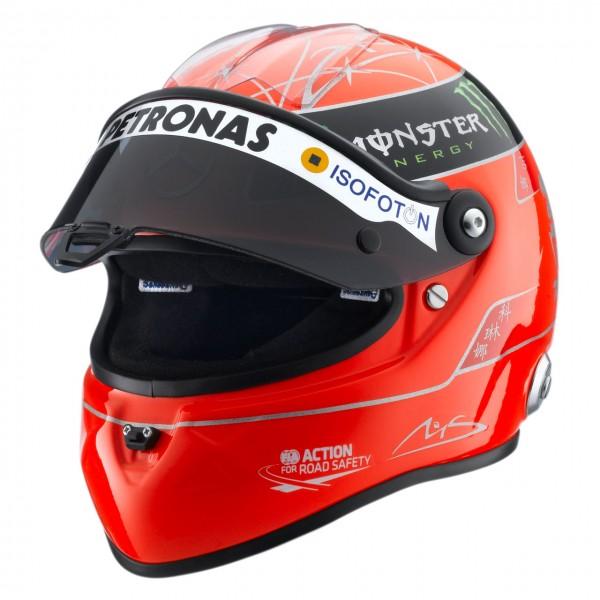 Michael Schumacher Helm Gp Formel 1 2012 12