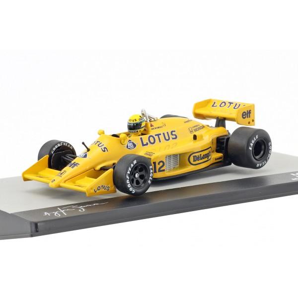 Ayrton Senna Lotus 99T #12 Winner Monaco GP Formel 1 1987 1/43