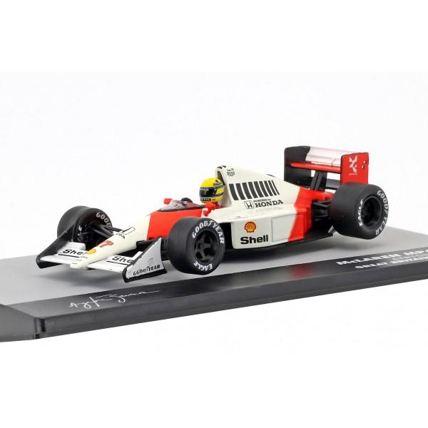 Ayrton Senna McLaren MP4/5B #27 World Champion Great Britain GP Formula 1 1990 1/43