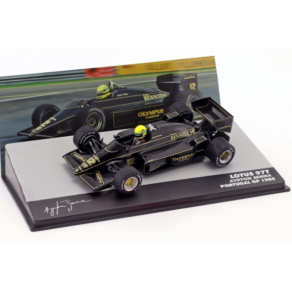 Ayrton Senna Lotus 97T #12 Winner Portugal GP Formula 1 1985 1:43