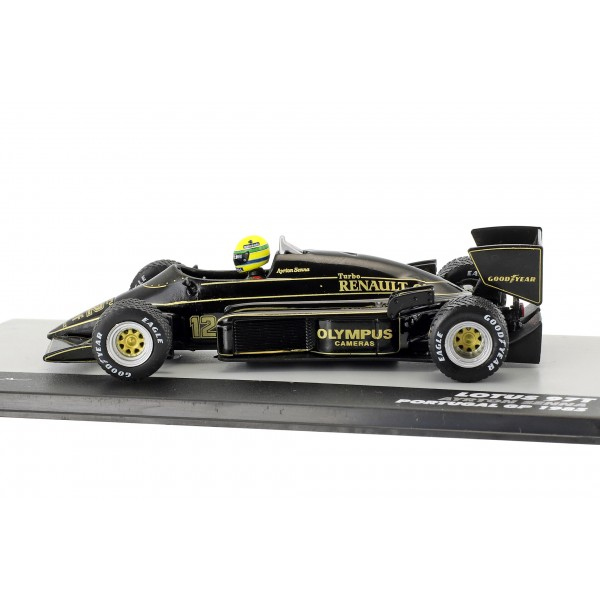 Ayrton Senna Lotus 97T #12 Winner Portugal GP Formula 1 1985 1/43