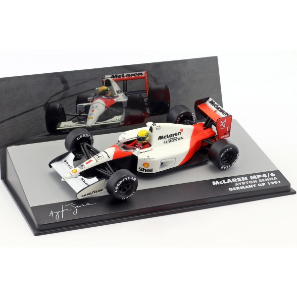 Ayrton Senna McLaren MP4/6 #1 World Champion formula 1 1991 1:43