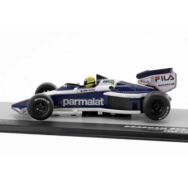 Ayrton Senna Brabham BT52B test formula 1 1983 1/43
