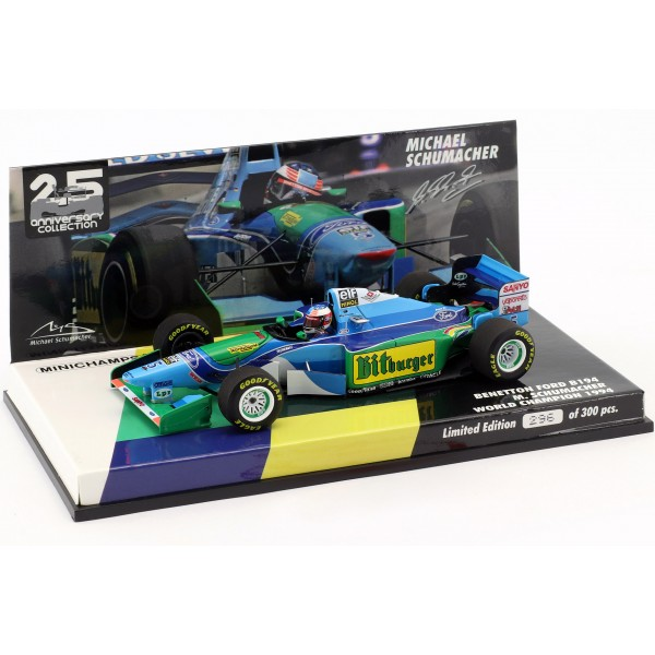 Michael Schumacher Benetton Ford B194 - Australia GP 1944 1/43