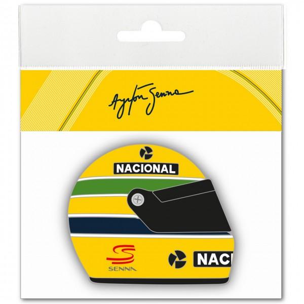 Ayrton Senna Sticker Helmet