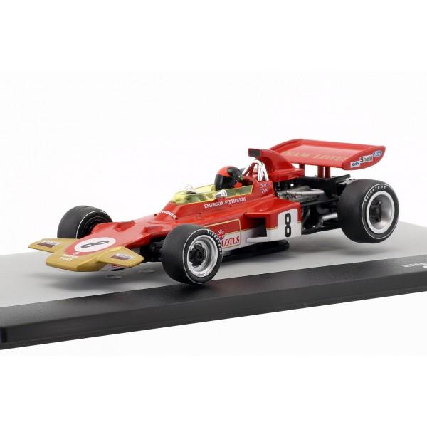 Emerson Fittipaldi Lotus 72D #8 Germany GP Formula 1 1971 1/43