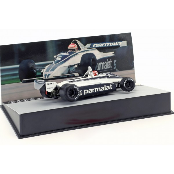 N. Piquet Brabham BT49C #5 World Champion Germany GP Formula 1 1981 1/43