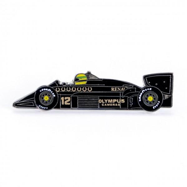 Ayrton Senna Anstecker Classic Team Lotus