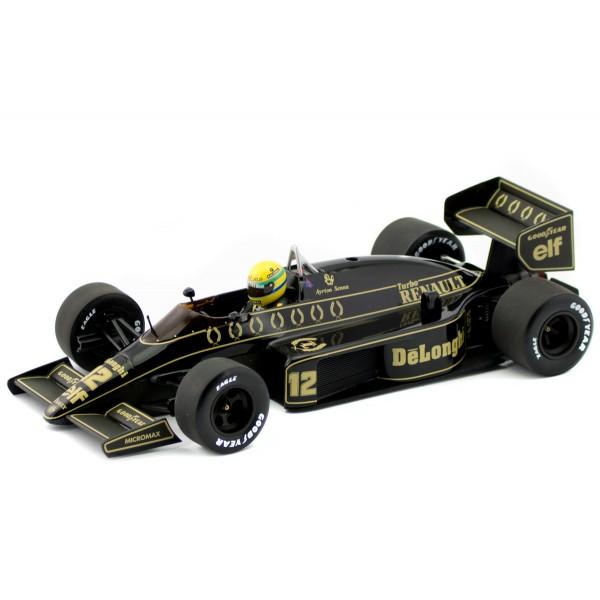 Ayrton Senna Lotus Renault 98T Minichamps