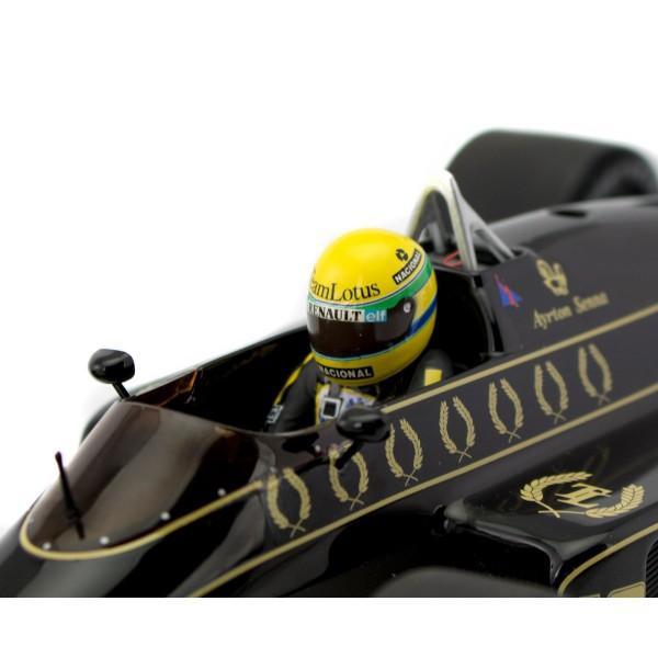 Ayrton Senna Lotus Renault 98T 1986 1:18