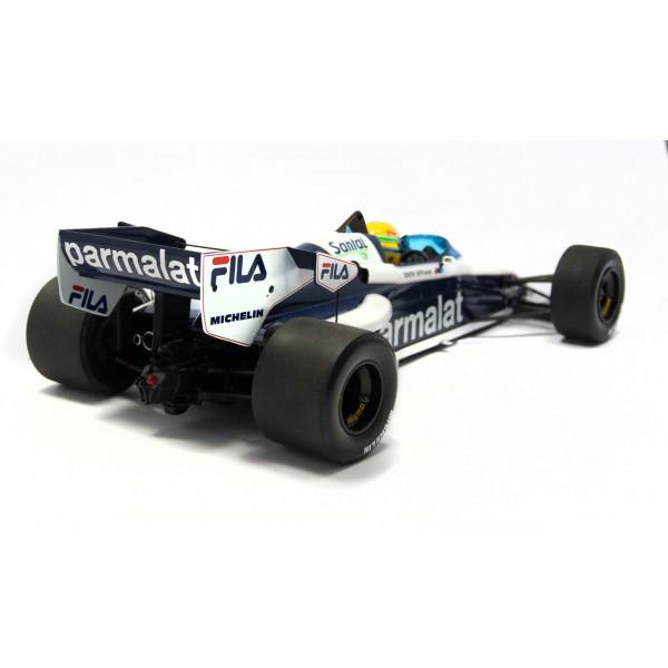 Ayrton Senna - Brabham BMW BT52B 540831899 back
