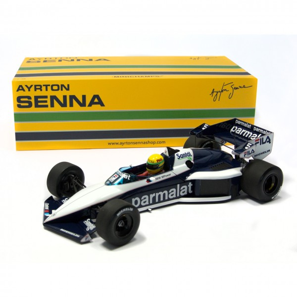 Ayrton Senna - Brabham BMW BT52B 540831899 box