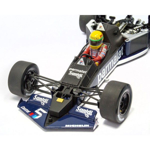 Ayrton Senna - Brabham BMW BT52B 540831899 Detail front