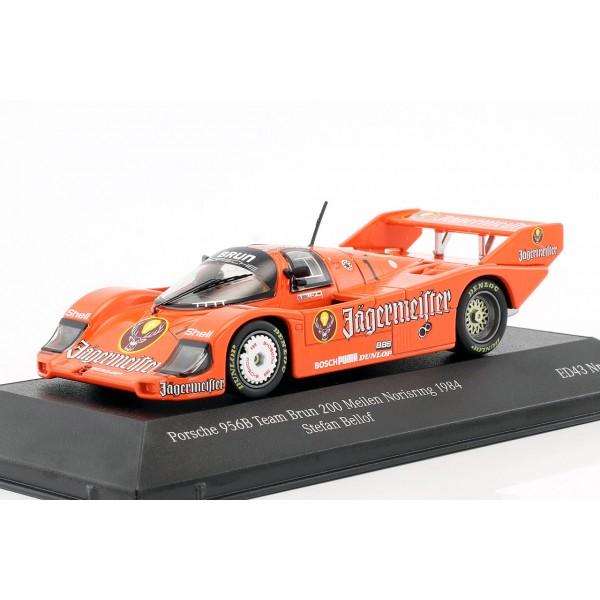 Stefan Bellof Porsche 956 Brun #1 3rd 200 Meilen Norisring 1984 1/43