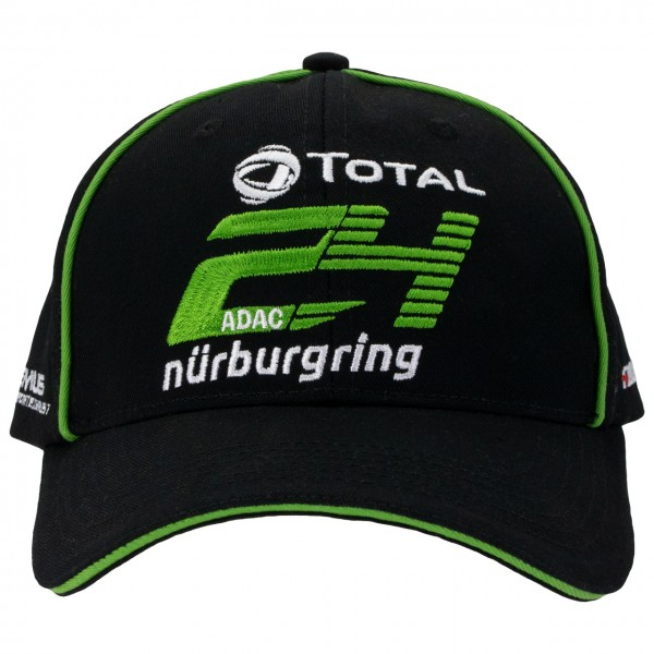 24h Race Cap Sponsor black