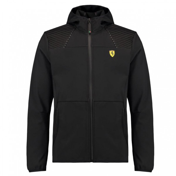 Scuderia Ferrari Softshelljacket black