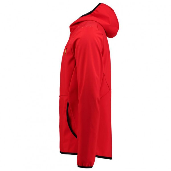 Scuderia Ferrari Softshelljacket rosso