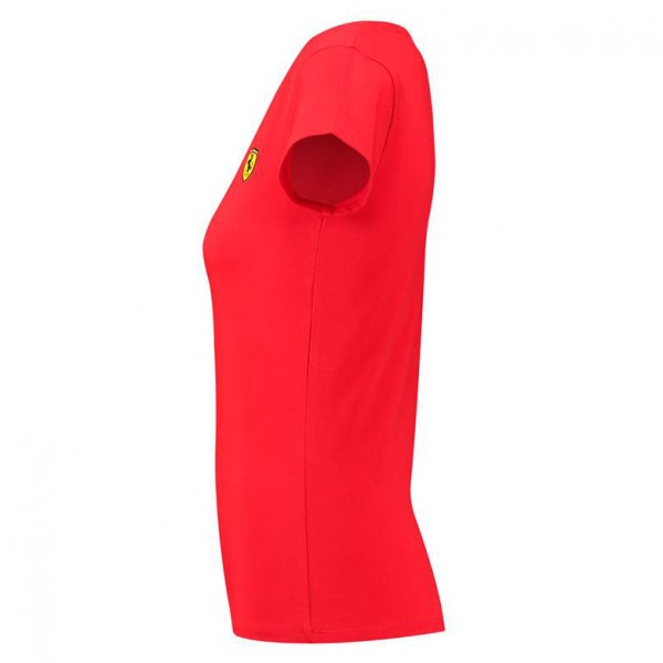 Scuderia Ferrari T-Shirt Femme Col V