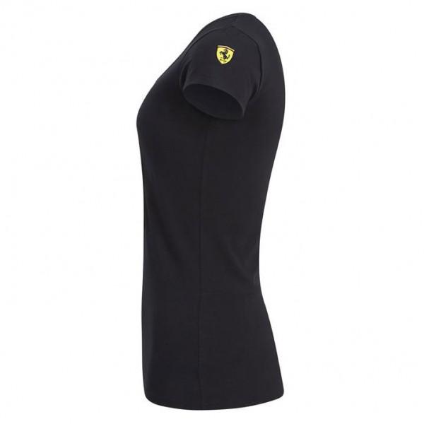 Scuderia Ferrari Damen T-Shirt schwarz