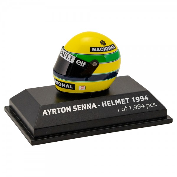 Casco Ayrton Senna 1994 Escala 1/8