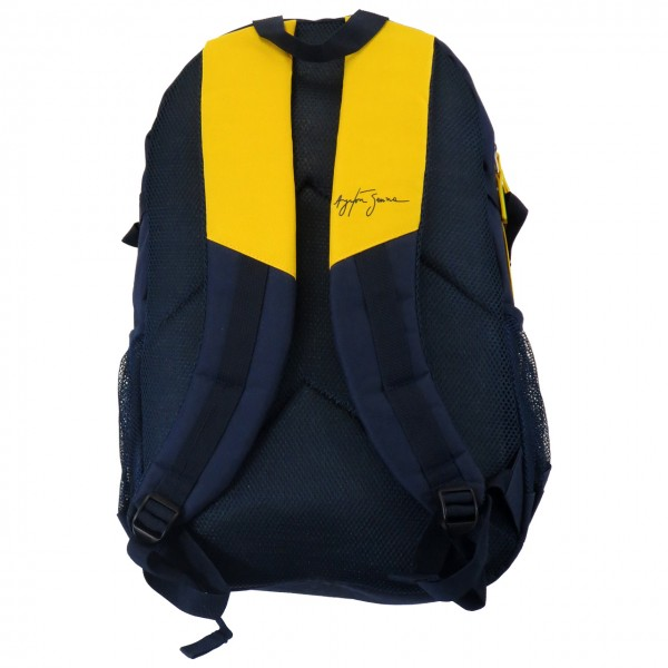 Ayrton Senna Backpack Helmet back
