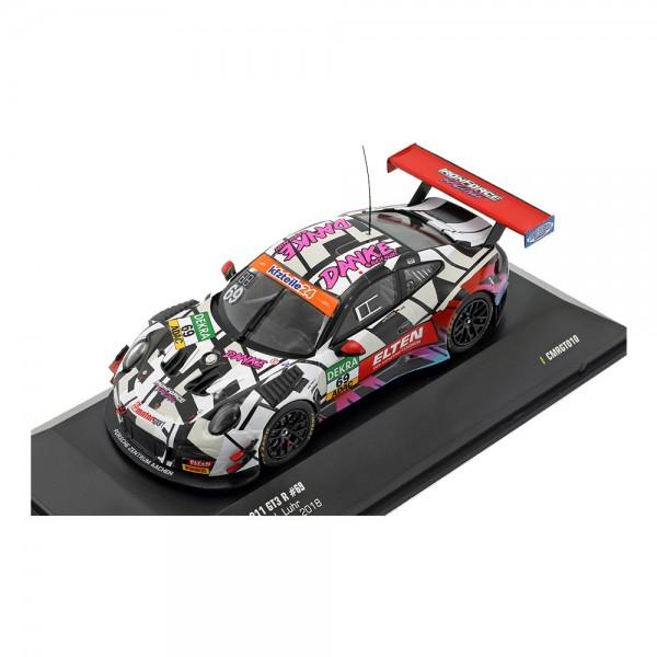 1:43 CMR Porsche 911 GT3 R #69 ADAC GT Masters Nürburgring 2018 991