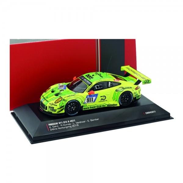 Porsche 911 (991) GT3 R #911 Grello Pole Position 24h Nürburgring 2018 1:43