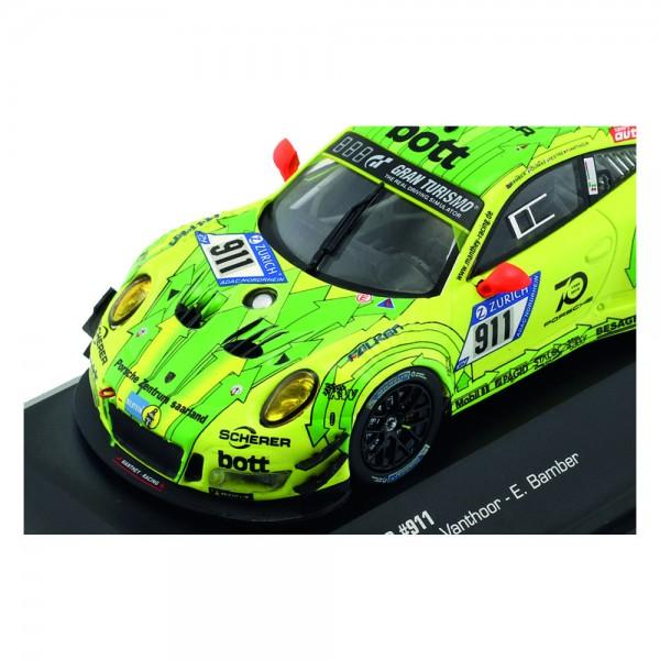 Porsche 911 (991) GT3 R #911 Grello Pole Position 24h Nürburgring 2018 1/43