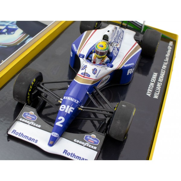 Ayrton Senna Williams FW16 San Marino Grand Prix 1994 1/18