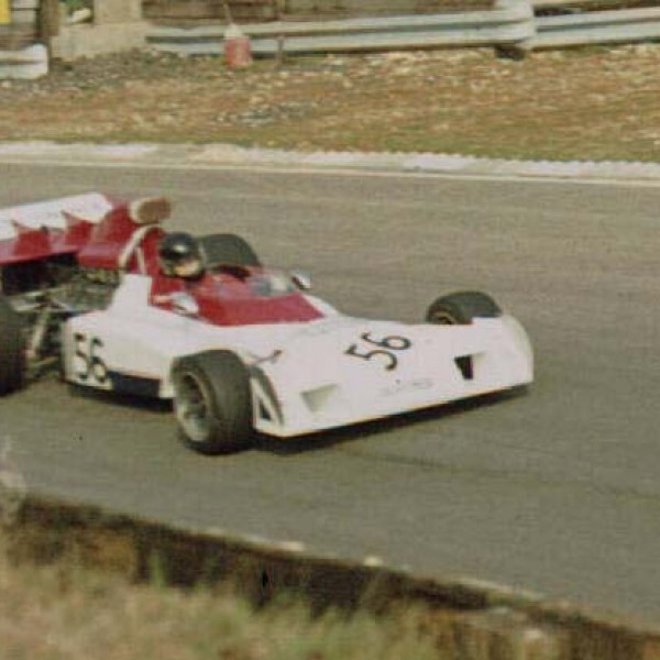 James Hunt im Surtees TS9 beim Race of Champions am 18. März 1973