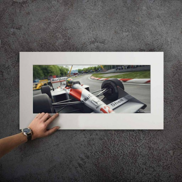 Ayrton Senna McLaren Unique and Famous the best and rest