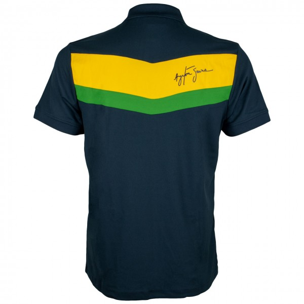 Ayrton Senna Poloshirt Racing II