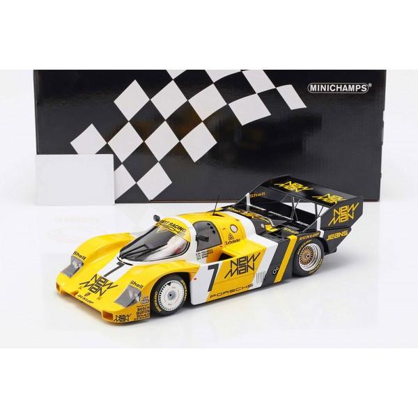 Ayrton Senna Porsche 956K #7 1000km Nürburgring 1984 Joest Racing 1/18