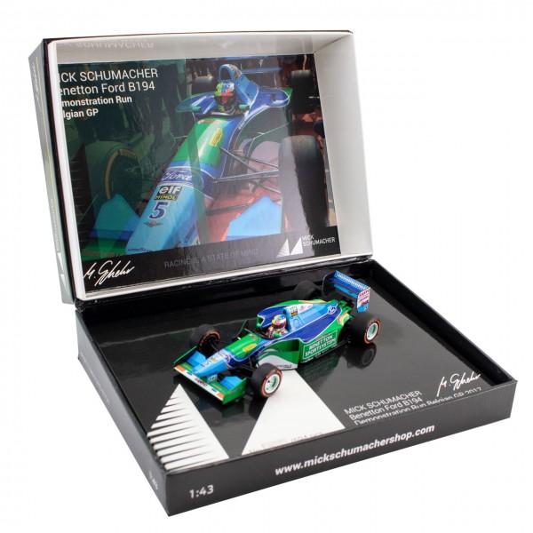 Mick Schumacher Benetton Ford B194 Demo Run Belgien GP 2017