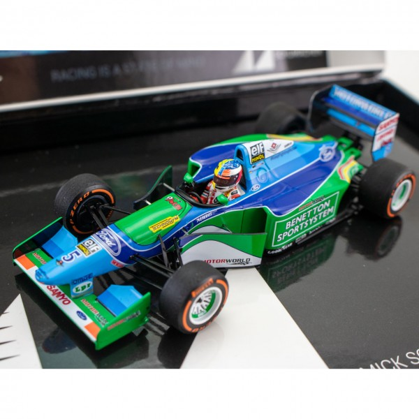 Mick Schumacher Benetton Ford B194 Demo Run Belgien GP 2017 1:43